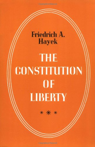 Image of The Constitution of Liberty