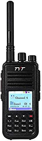 TYT MD-380 5W High Output DMR Digital Radio VHF Two Way Radio Walkie Talkie Ham Radio,with USB Programming Cable