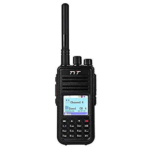 (TYT MD-380 5W High Output DMR Digital Radio VHF Two Way Radio Walkie Talkie Ham Radio,with USB Programming Cable)
