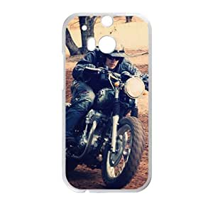 Handsomely and very cool motorcycle phone case for HTC M8