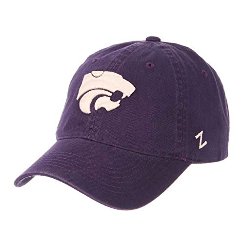 NCAA Kansas State Wildcats Men's Scholarship Relaxed Hat, Adjustable Size, Team Color