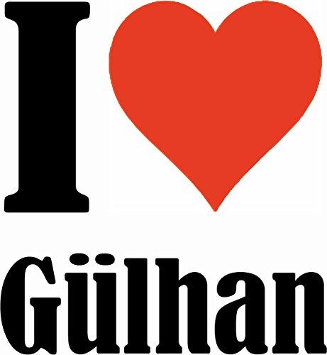 """Handyhülle iPhone 4 / 4S """"I Love Gülhan"""" Hardcase Schutzhülle Handycover Smart Cover für Apple iPhone … in Weiß … Schlank und schön, das ist unser HardCase. Das Case wird mit einem Klick auf deinem Sm"""
