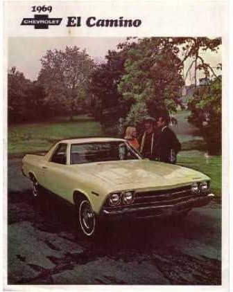 Amazon Com 1969 Chevrolet El Camino Sales Brochure Literature Book Toys Games