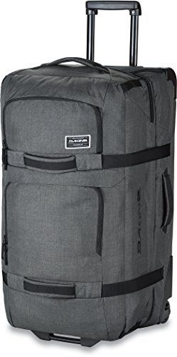 Dakine 10000784  - Unisex Split Roller Luggage Bag - Durable Construction - Split-Wing Collapsible Brace Level - Exterior Quick Access Pockets (Carbon, 85L) by Dakine