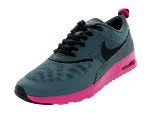 Nike Women's Air Max Thea Dk Armory Blue/Black/Pink Foil Running Shoes 6 Women US lowest price ZT2rKO7Oi