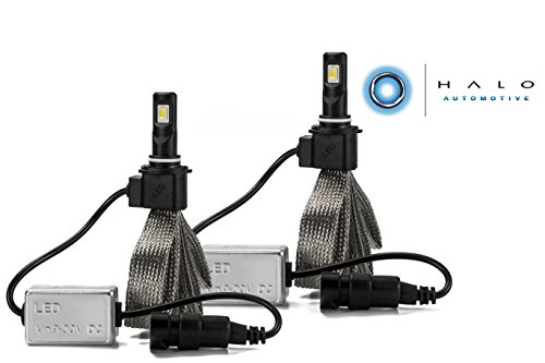 Halo Automotive Premium Fanless 9006 LED Conversion Kit - 40w 8,000Lm 6000K White CREE - 2 Year Warranty