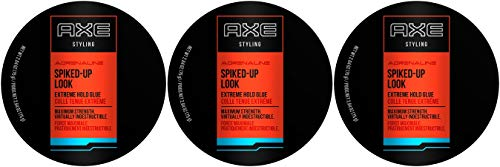 AXE Styling Adrenaline Spiked-Up Look Extreme Hold Glue, 2.64 Ounce (Pack of 3)