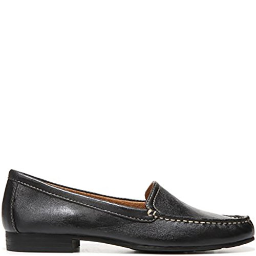 Mocassini Moc Per Donna In Pelle Nera Naturalizer, 7 M Us
