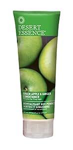 Desert Essence, Thickening Conditioner, Green Apple and Ginger, Vegan, 8 oz