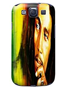 Samsung galaxy s3 Case Cover, TPU,Bob Marley, Colorful, The Most fashionable Design