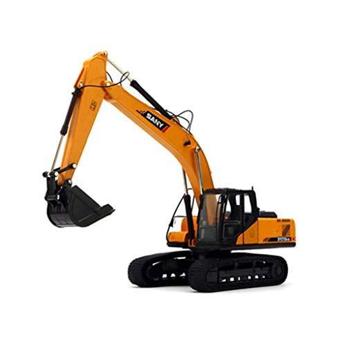 WSWJJXB Modelo de Excavadora de 1: 35 simuladores de aleación de Coche Modelo de Excavadora, tamaño: 35X10X6 CM por WSWJJXB