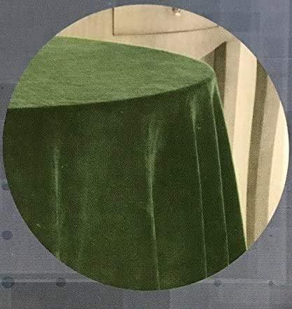 EDEN DELUXE Falda DE Mesa Camilla Terciopelo Raschel Color: Verde, 90-(233cm).: Amazon.es: Hogar