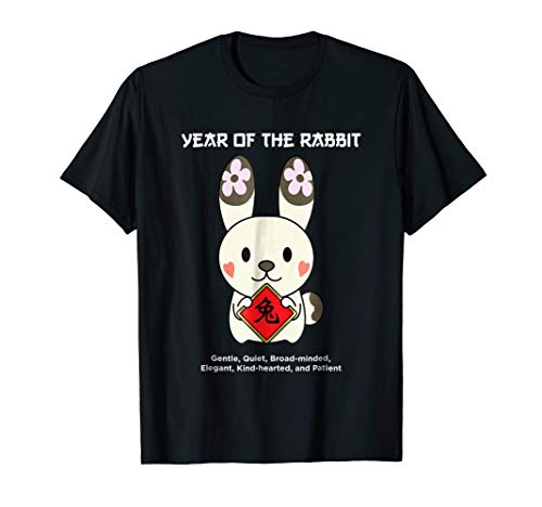 Year of The Rabbit Chinese Zodiac T-Shirt Lunar New Year