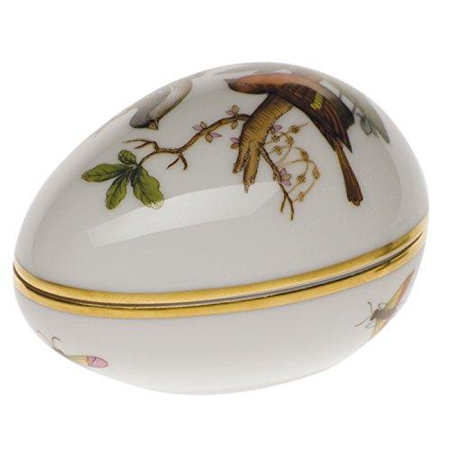 Herend Rothschild Bird Egg - Herend Rothschild Bird