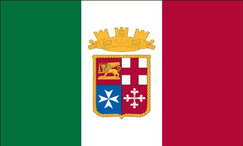 America's Flag Company FF3X5NIEN1 3-Foot by 5-Foot Nylon Italian Ensign Flag