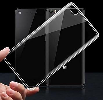 Prevoa ® 丨 Xiaomi Mi5 Funda - Transparent Silicona TPU Protictive Carcasa Funda Case para Xiaomi Mi5 - Novedad 5,15 Pulgadas Smartphone - Transparent