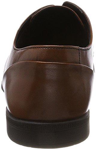 Weave Bampton Scarpe Stringate Tan Derby Marrone Leather Uomo Clarks P5aRww