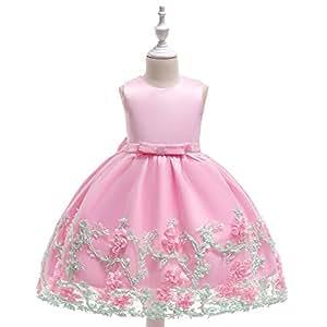 Amazon.com: NOMSOCR Vestido de princesa sin mangas para ...