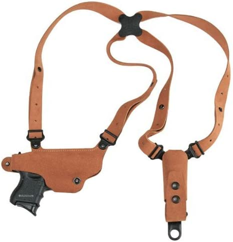 Galco Classic Lite RH Shoulder Holster System Compatible with Glock 17 19 22 23