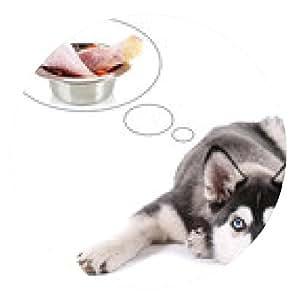 alfombrilla de ratón cachorro de husky cuco de la carne, aislado en blanco - ronda - 20cm