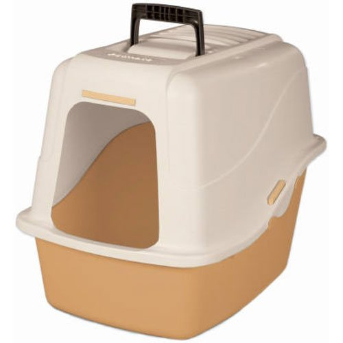 Petmate 22027 Hooded Litter Pan Set, - Set Petmate Pan Hooded