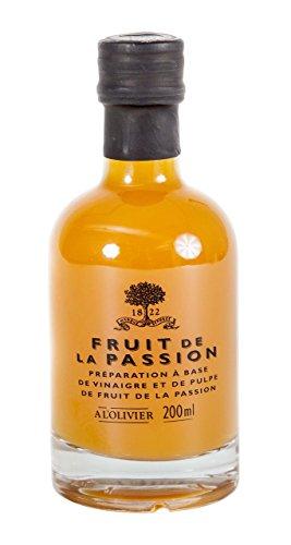 - A L Olivier, Vinegar Fruit De La Passion Fruit, 6.76 Fl Oz