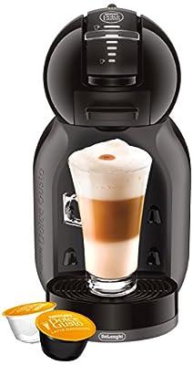 DeLonghi America EDG305BG EX:1 Nescafe Dolce Gusto Mini Me Espresso and Cappuccino Machine, Black by DeLonghi America