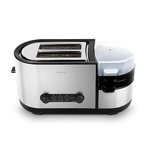 KLYHCHN Toaster whall Stainless Steel Function,Removable Crumb Tray,Toast Evenly and Quickly for Various Bread Cooking…