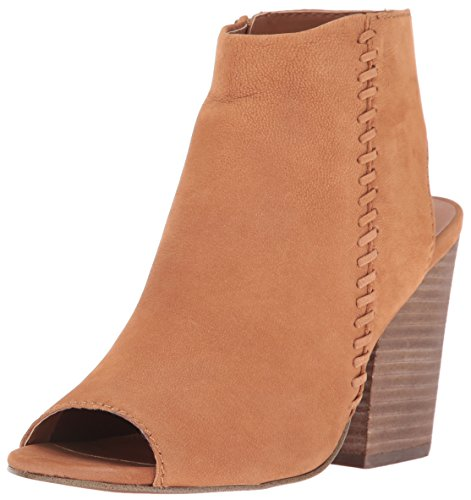 Steve Madden Women's Mingle1 Dress Sandal, Tan Nubuck, 6.5 M US