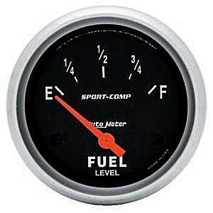 Autometer Sport Comp Fuel Level - Auto Meter 3516 AMC/SW FUEL LEVEL GAUGE