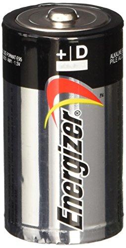 - Energizer Max E95FP-8 D Alkaline Batteries 8 Pack