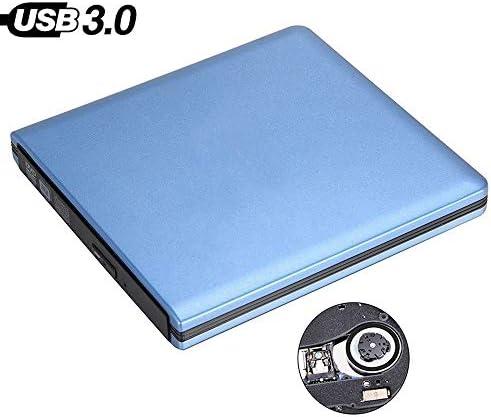 ZHZH-JP USB3.0外付けDVDプレーヤー8倍速DVD-ROMコンボリーダー24X CD-Rバーナースリム光学ドライブ