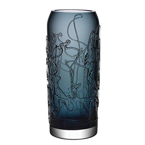 - Kosta Boda 7041402 Twine Vase, Large, Grey