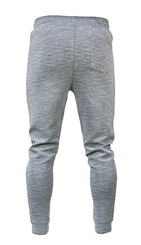 Men's Workout Slim Fit Joggers Sweatpants Athletic Pants With Zipper Pockets