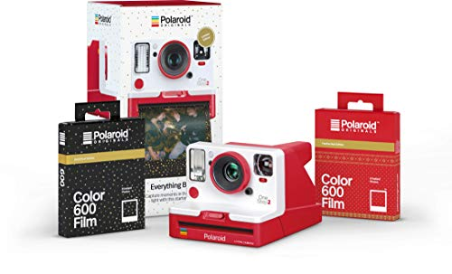 Polaroid Originals Everything Box – OneStep 2 VF Red Camera and Film Bundle (4961)