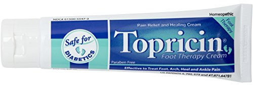 Topricin Foot Pain Relief Therapy Cream (3/4 oz)