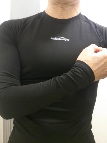COOLOMG-アンダーシャツ【保温・発熱】防寒インナーシャツ-ハイネック-あったかインナー-ストレッチ
