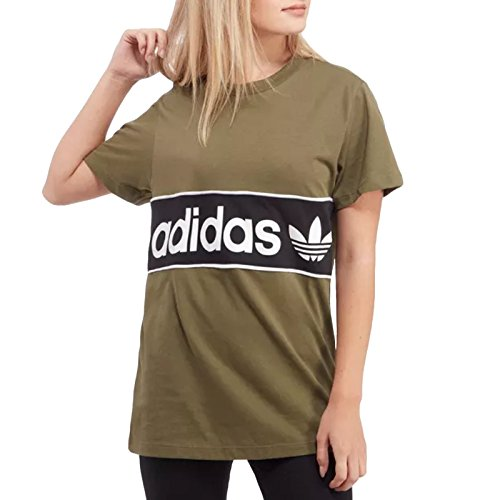 adidas Originals Womens Athletic Short Sleeve Crewneck Tee - XS Adidas Clothes