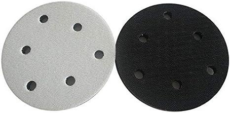 multicolor Supertool Discos de lijado con almohadilla de lija para lijar superficies redondeadas