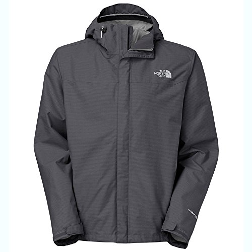 The North Face Mens Venture Jacket Asphalt Grey Heather (7D1) Waterproof (XL)