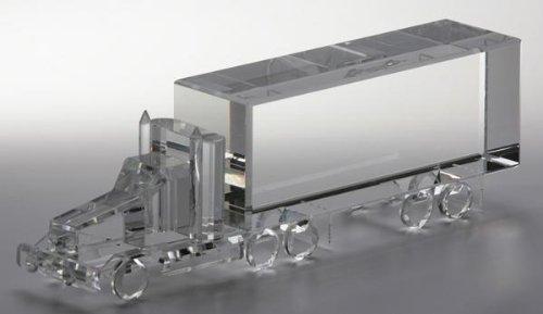 Star Awards Logo Crystal (Optical Crystal Trail Truck)