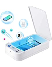 Phone Cleaner Smartphone Cleaner, Portable Cell Phone Cleaner Box with Aromatherapy Function for iPhone, Makeup Tools, Glasses, Watch, Masks, Keys