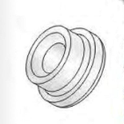 Insulator Teflon (Profax Lenco 54N63 G/L Glass Reinforced Teflon Gas Lens Nozzle Insulator (20 Pack))