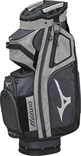 Mizuno Br-D4C Golf Cart Bag, Grey/Black by Mizuno (Image #1)