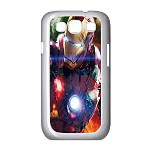 Samsung Galaxy S3 9300 Cell Phone Case White Iorn Man LSO7765842