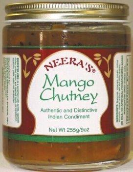 Mango Sweet Chutney (Mango Chutney, sweet, chunky and peppery, 1 Jar)