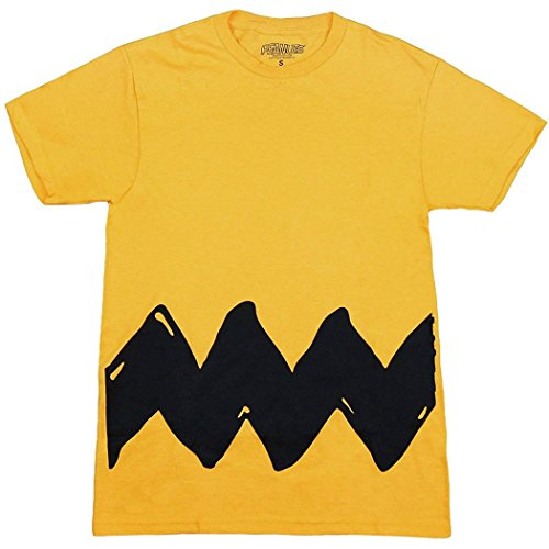 Peanuts Charlie Brown Costume T-Shirt-Large ()