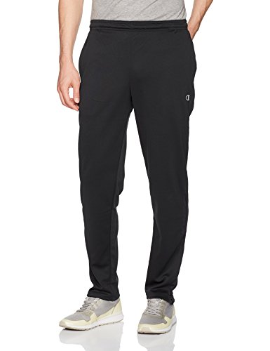 (Champion Men's Double Dry Select Training Pant, Black, M)