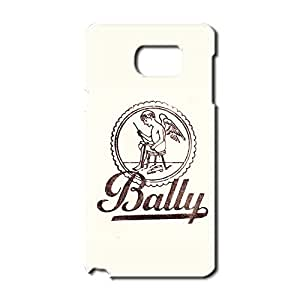 Classic Bally Logo Customized Thin Durrable Plastic 3D Case Cover L6M107 For Samsung Galaxy Note 5