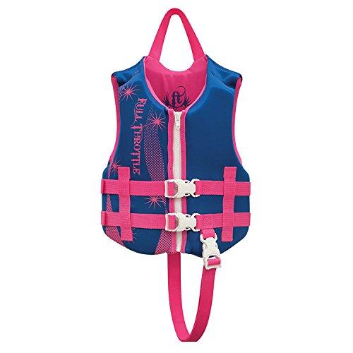 Full Throttle 142100-500-001-16 Children's Rapid-Dry Vest
